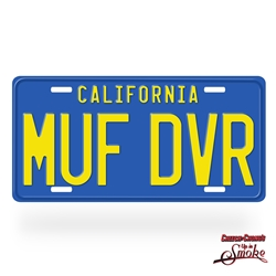 Cheech and Chong's Up In Smoke MUF DVR License Plate
