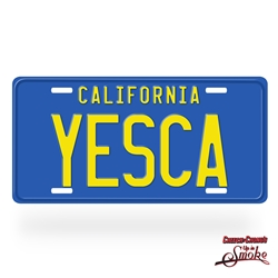 Cheech and Chong's Up In Smoke YESCA License Plate