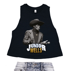 Junior Wells Sexy Bitch Racerback Crop Top - Women's
