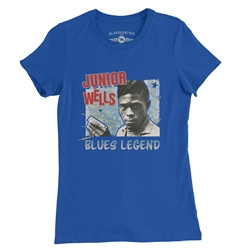 Junior Wells Blues Legend Ladies T Shirt