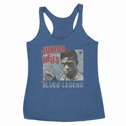 Junior Wells Blues Legend Racerback Tank - Women's