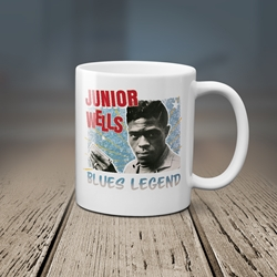 Junior Wells Blues Legend Coffee Mug
