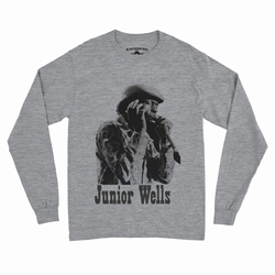 Old School Junior Wells Long Sleeve T-Shirt