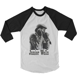 Old School Junior Wells Baseball T-Shirt