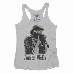 Old School Junior Wells Racerback Tank - Women's