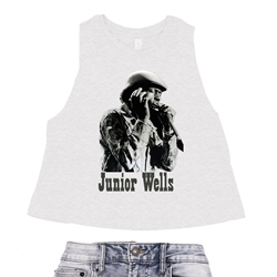 Old School Junior Wells Racerback Crop Top - Women's