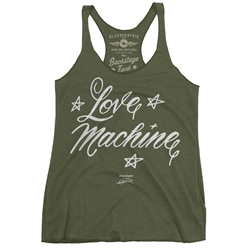 Cheech and Chong's Up In Smoke Love Machine Racerback Tank - Women's