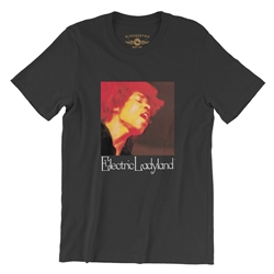Jimi Hendrix Electric Ladyland T-Shirt - Lightweight Vintage Style