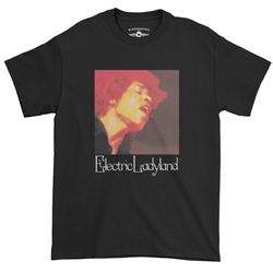 Jimi Hendrix Electric Ladyland T-Shirt - Classic Heavy Cotton