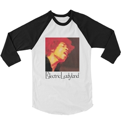 Jimi Hendrix Electric Ladyland Baseball T-Shirt