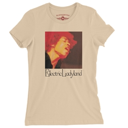 Jimi Hendrix Electric Ladyland Ladies T Shirt