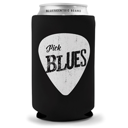 Pick Blues Koozie