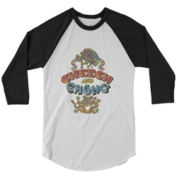 Cheech and Chong Album Baseball T-Shirt