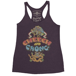 Cheech and Chong Album Racerback Tank - Women's