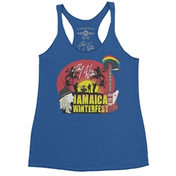 Johnny Winter's Jamaica Winterfest Racerback Tank - Women's
