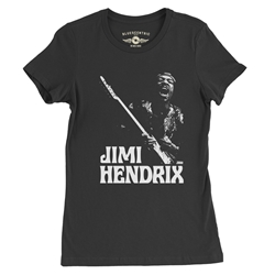 1970 Jimi Hendrix Ladies T Shirt
