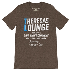 Theresa's Lounge T-Shirt - Lightweight Vintage Style