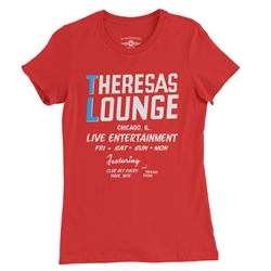 Theresa's Lounge Ladies T Shirt