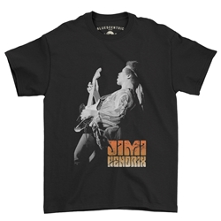 Jimi Hendrix T Shirt - Classic Heavy Cotton