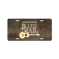 Mississippi Blues Trail License Plate