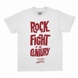 Rock Fight of the Century Cheech and Chong T-Shirt - Classic Heavy Cotton