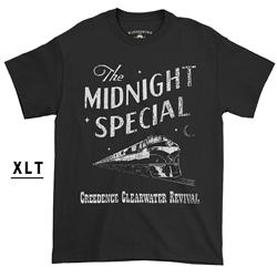 Creedence Clearwater Revival Midnight Special XLT  T-Shirt - Men's Big & Tall