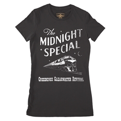 Creedence Clearwater Revival Midnight Special Ladies T Shirt