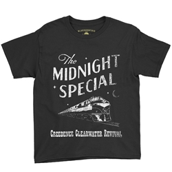 Creedence Clearwater Revival Midnight Special Youth T-Shirt - Lightweight Vintage Children & Toddlers