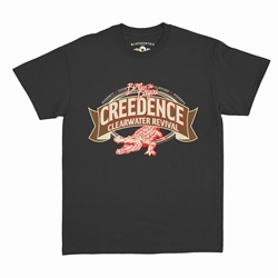 Creedence Clearwater Revival Gator T-Shirt - Classic Heavy Cotton