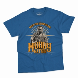 Muddy Waters Keep the Blues Alive T-Shirt - Classic Heavy Cotton
