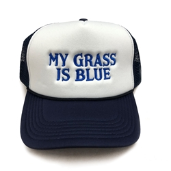 My Grass is Blue Hat - Foam Trucker