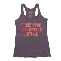Creedence Clearwater Revival Racerback Tank - Women's