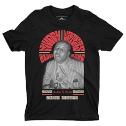 Muddy Waters at The Fillmore T-Shirt - Lightweight Vintage Style