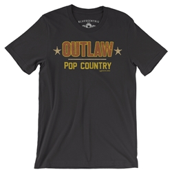 OUTLAW! Pop Country Music T Shirt