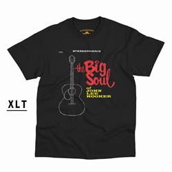 The Big Soul of John Lee Hooker XLT  T-Shirt - Men's Big & Tall