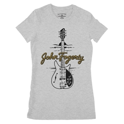 John Fogerty Ladies T Shirt