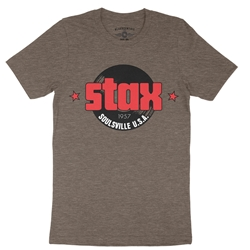 Stax Soulsville T-Shirt - Lightweight Vintage Style