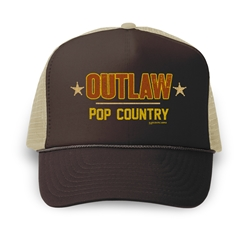 Outlaw Pop Counttry Trucker Hat