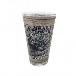 Creedence Clearwater Revival Born on the Bayou Pint Glass