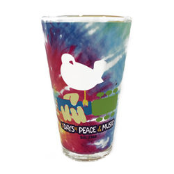 Woodstock Tie-Dye Pint Glass