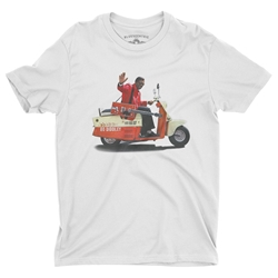 Bo Diddley Scooter T-Shirt - Lightweight Vintage Style