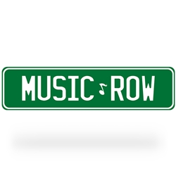 Music Row Street Sign