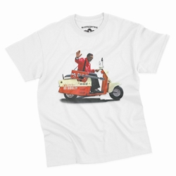Bo Diddley Scooter T-Shirt - Classic Heavy Cotton