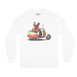 Bo Diddley Scooter Long Sleeve T-Shirt