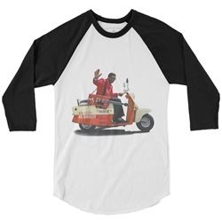 Bo Diddley Scooter Baseball T-Shirt