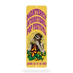 Monterey Pop Festival Sign