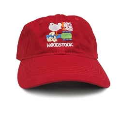Woodstock Hat - Unstructured Red