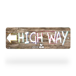 Woodstock High Way Street Sign