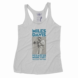 Miles Davis New York City Racerback Tank - Women's