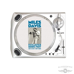 Miles Davis New York City Vinyl Record Slip Mat